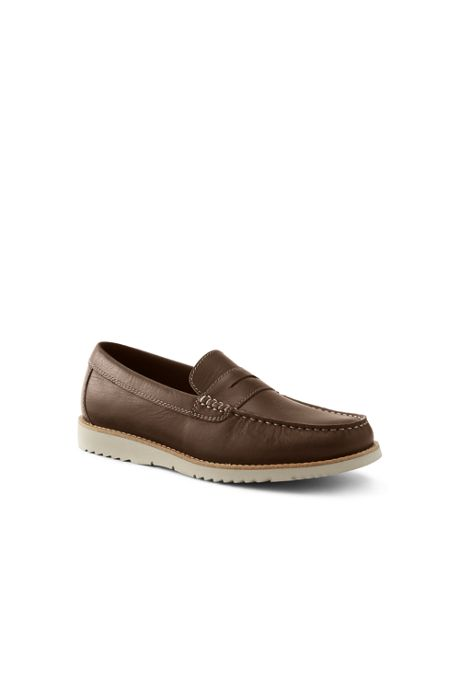 Men's Comfort Casual Leather Penny Loafers