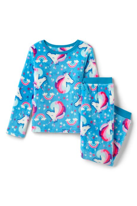 Toddler Girls Plush Fleece Pajama Set