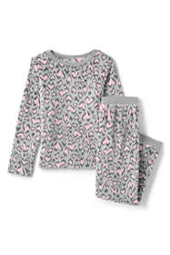 Girls Plush Fleece Pajama Set