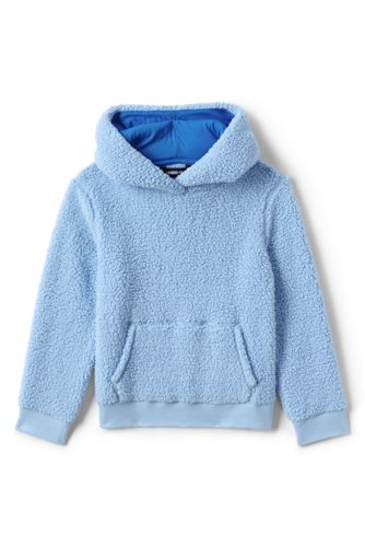 Little Kids' Pull Over Sherpa Hoodie