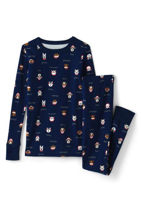 Kids Pattern Snug Fit Pajama Set