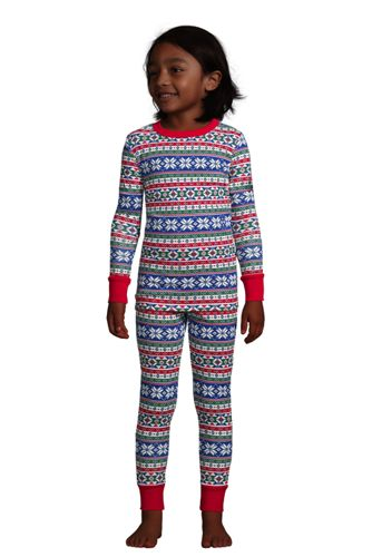 Kids Pattern Snug Fit Pajama Set