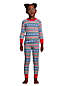 Kids Pattern Snug Fit Pyjama Set
