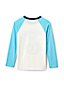 Little Boys' Long Sleeve Applique Graphic Tee