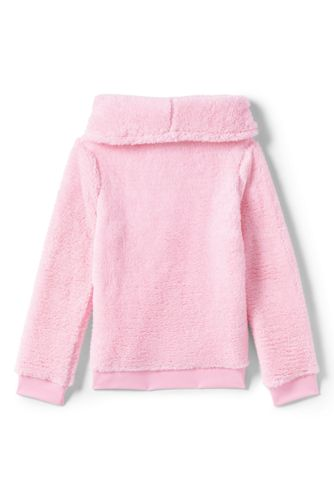 Girls Plus Size Fuzzy Sweatshirt