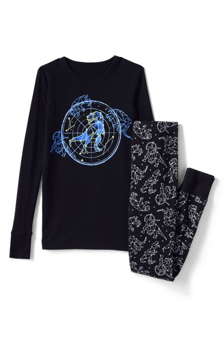 Kids Glow in the Dark Snug Fit Pajama Set