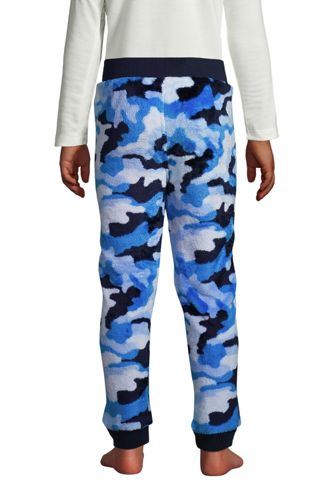 Boys Plush Fleece PJ Jogger Pants