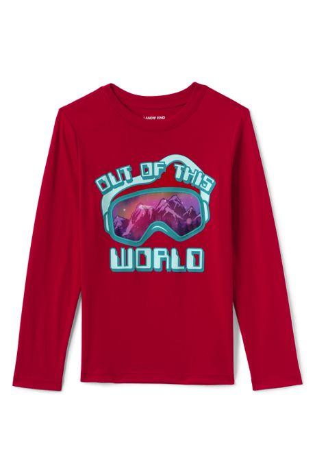 Toddler Boys Long Sleeve Graphic Tee