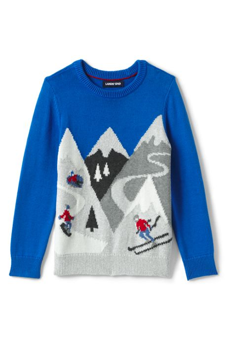 Boys Mountain Crewneck Sweater