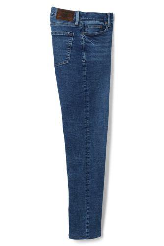Straight Fit Stretch-Jeans mit Flanellfutter für Herren