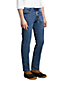 Men's  Flannel Lined Stretch Denim Jeans, Straight Leg
