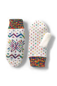 Women's Fairisle Winter Mittens