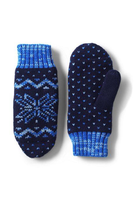 Women's Fairisle Winter Mittens