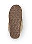 Lammfell-Pantoffel mit Kalbshaar für Damen