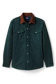 Men's Big and Tall Moleskin Shirt Jacket