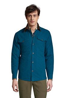 Moleskin-Hemdjacke für Herren
