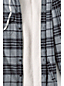 Men's Flannel Sherpa Lined Hooded Shirt Jacket