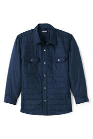 Men's Big and Tall Quilted Shirt Jacket