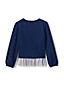 Sweatshirt à Ourlet Volanté, Fille