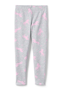 Girls' Novelty Fleece Lined Leggings