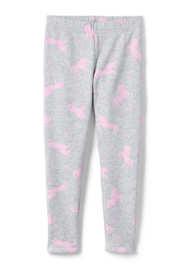 Girls Plus Size Novelty Fleece Lined Leggings
