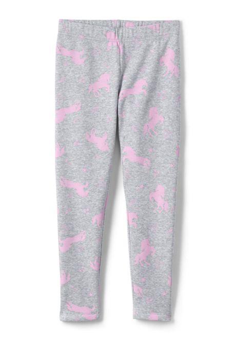 Toddler Girls Novelty Fleece Lined Leggings