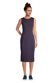 Women's Sleeveless Starfish Knit Sheath Dress