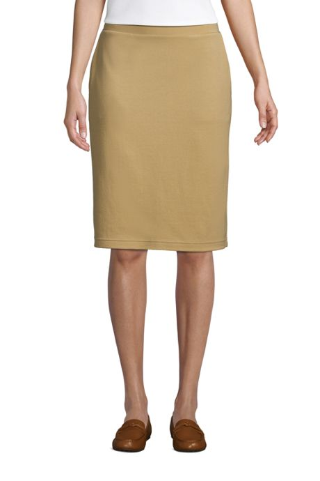 Women's Sport Knit Pencil Skirt