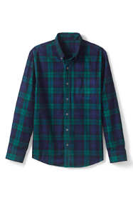 Men's Plaid Corduroy Shirt