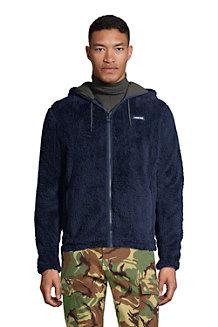 Men's Softest Sherpa Fleece Full-Zip Hoodie