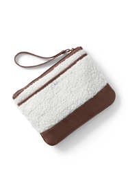 Medium Sherpa Zipper Pouch