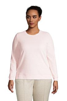 Sweatshirt aus Velours für Damen