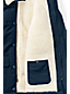 Men's Sherpa Lined Quilted Coat