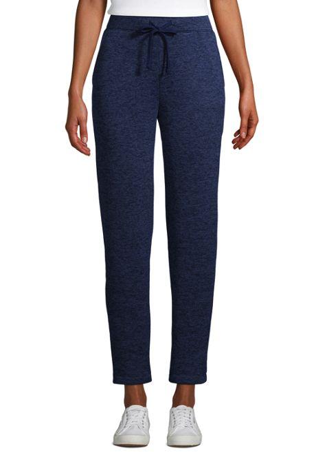 Women's Sweater Fleece Ankle Pants
