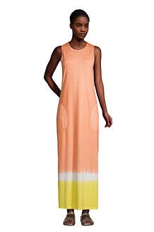 Maxi-Strandkleid Gemustert für Damen