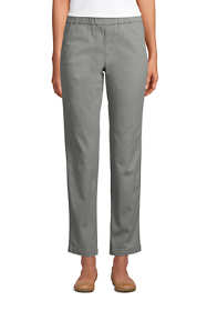 Women's Tall Mid Rise Pull On Chino Ankle Pants