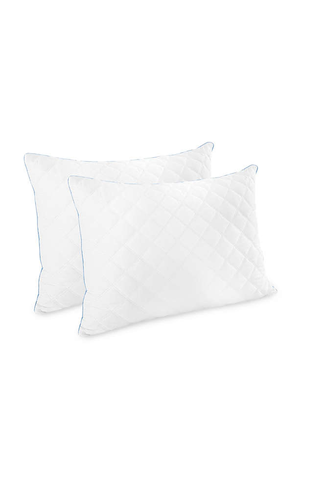 Biopedic Cooling Hybrid Memory Foam Pillow- 2 pack, Front