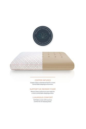 Copper Infused Memory Foam Pillow
