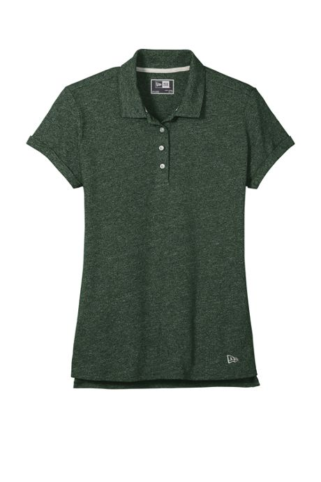 Women's Plus New Era Slub Twist Polo