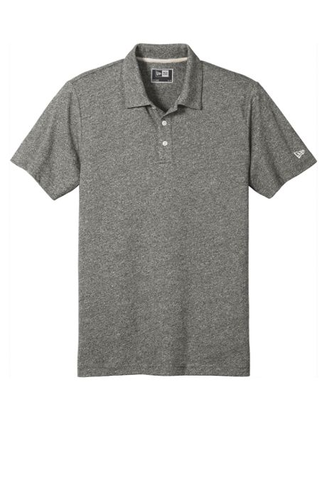 New Era Men's Regular Slub Twist Polo