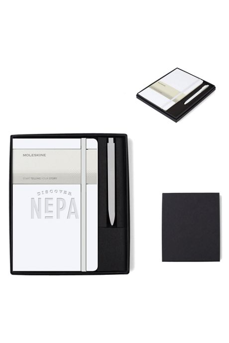 Moleskine Large Notebook and GO Pen Gift Set