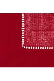 Saro Lifestyle Classic Hemstitch Border Placemat - Set of 12