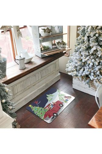 Bungalow Flooring Christmas Comfort Indoor Floor Mat