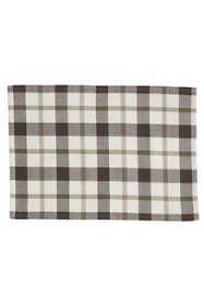 Saro Lifestyle Plaid Design Cotton Placemats - Set of 4