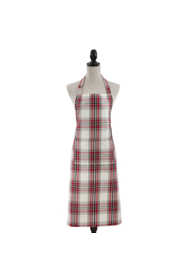 Saro Lifestyle Plaid Cotton Apron