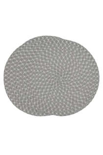 Saro Lifestyle Round Woven Placemats - Set of 4, alternative image