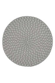 Saro Lifestyle Round Woven Placemats - Set of 4