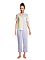 Popelin-Pyjamahose in 7/8-Länge für Damen