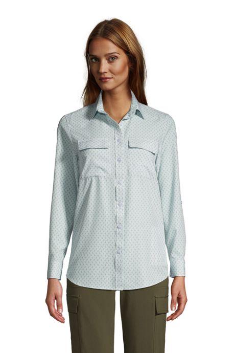 Women's Tall 365 Long Sleeve Tunic Top
