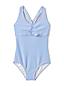 Seersucker-Badeanzug für Mädchen